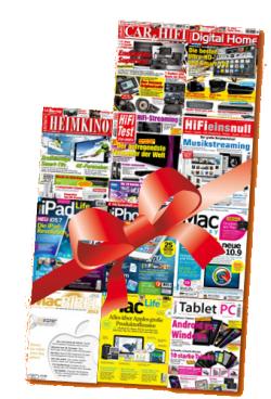 3 Monate Hifi und Computer (digital) gratis durch Gutscheincode statt 11,97€ @magazine-flatrate.de