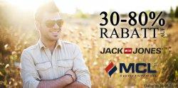 30 bis 80 Prozent Rabatt auf Jack & Jones und MCL bei Hoodboyz