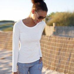 3er-Pack Lady Fit Long Sleeve T-Shirts von Fruit of the Loom für 11,11 € plus evtl. 6 € für Freundschaftswerbung @deallx.de