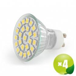 4 Stück LED Whitenergy GU10 3.5W für 14,90 € + 2,99 € Versand (36,40 € Idealo) @Notebooksbilliger