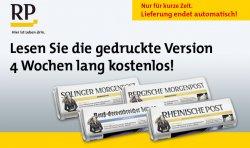 4 Wochen Gratis (statt 33,60€) Tageszeitung – Digital oder Print -keine Kündigung notwendig @magclub