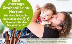 5 Euro Gutschein für Bier zum Vatertag bei Real (kein Mindestbestellwert)