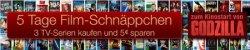 5 Tage Film-Schnäppchen z.B. Steelbooks ab 6,97€ @Amazon