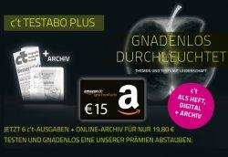 6 Ausgaben der c't für effektiv nur 4,80€ durch 15€ Amazon Gutschein