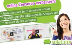 6-Monats-Abo der Nachhilfe-Plattform sofatutor.com für 6 € statt statt 179,70 €