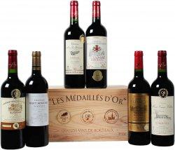 6 verschiedene goldprämierte Weine: Bordeaux-Selektion in OHK für 31,49€ @Weinvorteil