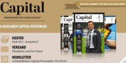 6 x Capital komplett kostenlos testen statt 45€ @magclub