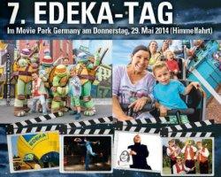 Am 29.05.2014 im Movie Park Germany für 15€ p.P. + gratis Parken @edeka.de (Seite 8 Edeka Prospekt)