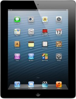 Apple iPad 4 mit Retina Display Wi-Fi 16GB schwarz für 319€ [idealo 357,99€] @saturn.de