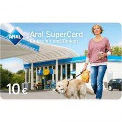 Aral SuperCard  im Wert von 10€ für 750 Punkte @Payback