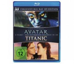 Avatar & Titanic auf 3D-Blu-ray für nur 21,89€ bei Media-Markt.de [Idealo: ~47€]