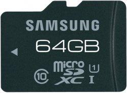 Bei eBay: Samsung Pro microSDXC Karte mit 64GB Speicher für nur 33,33€ bei eBay [Idealo: 43€]
