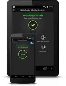 Bitdefender Mobile Security für 6 Monate kostenlos für Android Geräte
