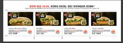 [Lokal] Burger King Gutscheine bis zum 10.05.2014 gültig