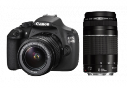 CANON EOS 1200D 18 Megapixel Digitalkamera + Objektiv 18-55mm+75-300mm für 499€ (563,90 € Idealo) @Saturn.de