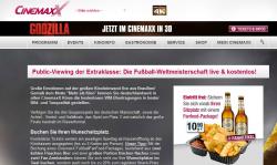 Cinemaxx-Kinos: Alle Deutsche WM – Spiel Live anschauen Je Spieltag 5 kostenlose Tickets
