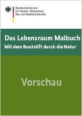 Das Lebensraum Malbuch gratis bestellen @BMUB