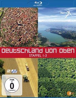 Deutschland von oben – Staffel 1-3 [Blu-ray] für 12,97 € statt 22,90 @amazon.de