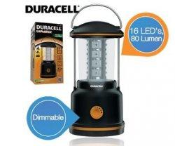 Duracell Camping Laterne mit 16 LEDs und 80 Lumen für 9,95€ + 5,95€ Versand @iBOOD Extra