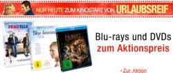 DVDs und Blu-rays zum Aktionspreis + 100 x 2 Kinotickets für den Film Urlaubsreif @Amazon