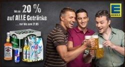 @Edeka Onlineshop: auf alle Getränke bis zu 20% Rabatt gültig bis 28.05.2014