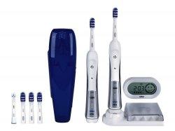 Elektr. Zahnbürste Braun Oral-B TriZone 5500 (2. Handstück, Reise-Etui, SmartGuide) für 109,99€ @amazone