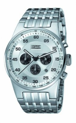Esprit Herren Chrono GRAND LEGEND SILVE für 59,00 € (92,95 € Idealo) @Amazon