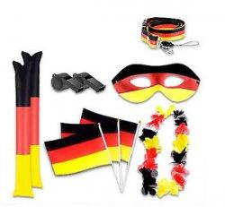 Fussball Fan Set Deutschland (10 Teile) für 2,97 EUR inkl. Versand bei druckerzubehoer.de