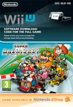 Game.co.uk bietet einen Downloadcode für Super Mario Kart für Wii U ca. 6,13€