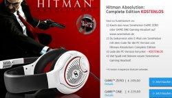 Game Hitman Absolution (Complete Edition) gratis bei Kauf eines G4ME Zero oder One Headset @Sennheiser.de