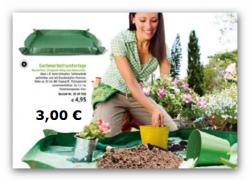 Gartenarbeitsunterlage (1 x 1 m) für 3 EUR versandkostenfrei bei Abholung in Tchibo Filiale