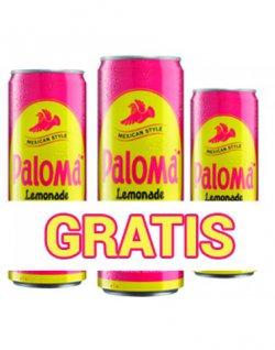 Gratis 4 Dosen Paloma Lemonade ( ohne Versandkosten ) @idrinx