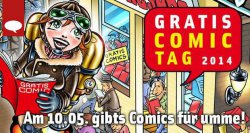 [Lokal] Gratis Comictag am 10.05.14 – 30 kostenlose Comics beim Händler