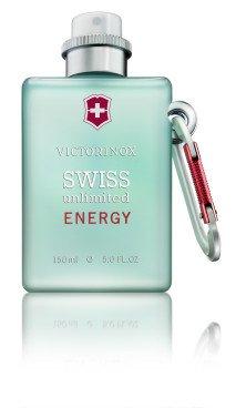 Gratis Duftprobe von Victorinox Swiss Unlimited Energy Eau de Cologne bestellen