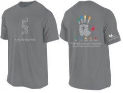 Gratis T-Shirt bei lifetechnologies.com anlässlich 60 Jahre DNA