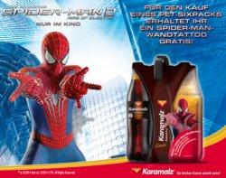 Gratis Wandtattoo von The Spider-Man 2: Rise of Electro auf Facebook von Karamalz