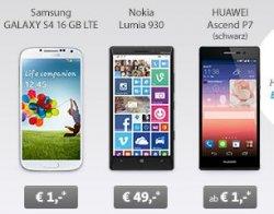 Günstiger Handytarif für Wenig-Telefonierer bei sparhandy.de: 14,95€ im Monat + z.B. Nokia Lumia 930 für NUR 49€ (Idealo 549€)
