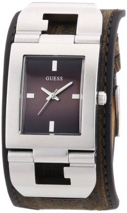 Guess Herren-Armbanduhr Cuffed Analog Quarz Leder für 22,68€ [idealo 85€] @amazon