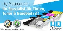 Gutscheine für HQ-Patronen.de: 20 € für 8 €, 50 € für 17,50 € bei GROUPON.de