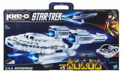 Hasbro Star Trek USS Enterprise Baukasten für 29,10 € (34,99 € Idealo) @Amazon