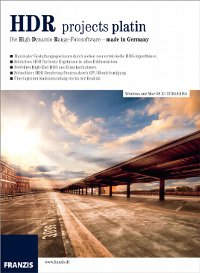 HDR projects platin / Win & Mac für 29€ als Download oder zum Bestellen [idealo 74,89€]@ Franzis