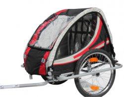 Kinderanhänger Fahrradanhänger Red Loon RB10003 mit Federung für 2 Kinder TÜV/GS für 155,05 € (199,95 € Idealo – 23% gespart) @MeinPaket