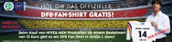 Kostenloses DFB Shirt beim Kauf von Nivea Produkten im Wert von 12€ @shop-nivea.de