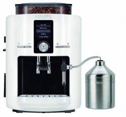 Krups EA 8245 Premium – Espresso-Kaffee-Vollautomat in weiß für 299€ bei Saturn.de [Idealo: 399€]