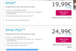LEBRA Allnet 1GB für 19,99€ oder Allnet Plus 3GB für 24,99€ [Telekomnetz] @Lebra