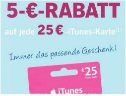 @Lidl.de: 5.-10.5.14 die 25€ iTunes-Karte für nur 20€