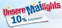 Medion Mailights mit 10% Gutschein auf 32 Aritkel (PC/Haushalt), z.B. z.B. MEDION MD14610 Küchenmaschine für 64,40€ [Idealo: 71€]