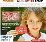 Migros Shop – Schweizer Spezialitäten  7€ Gutschein auf 25€ MBW
