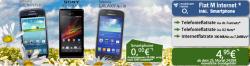 o2 Flat M Internet für 4,95 Euro mtl. + Smartphone ohne Zuzahlung@ Handyliga