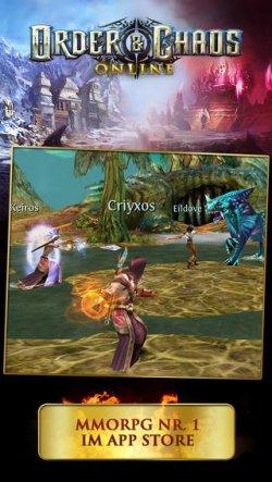 Order & Chaos Online von Gameloft GRATIS statt  5,99 € für iOS Gerät @iTunes